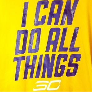 Under Armour I can do all things shirt